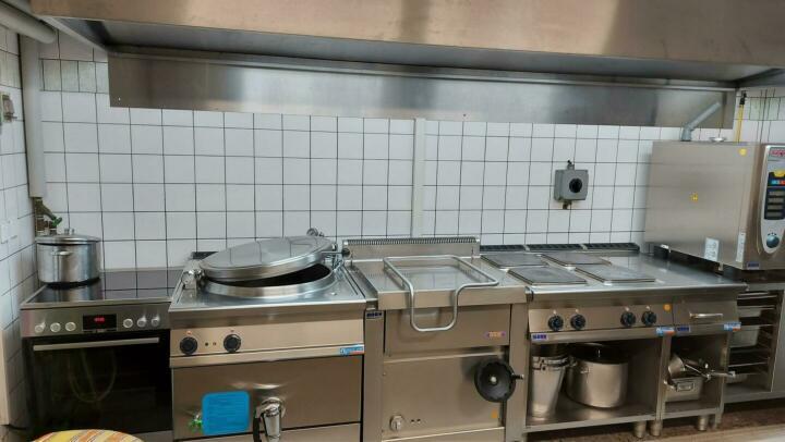 Küche Anblick 1